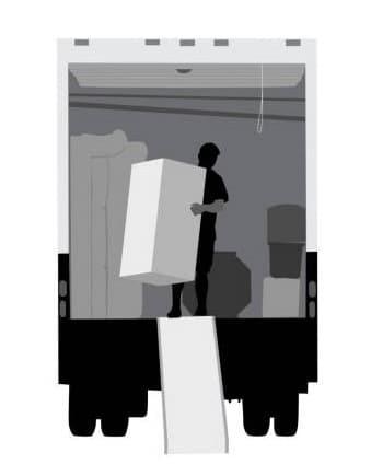 Débarras encombrants enlèvement mobilier de bureau Barby